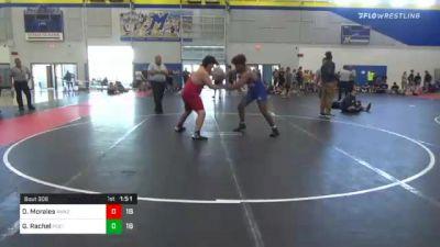 285 lbs 3rd Place - Diego Morales, Askren2 vs Ghee Rachel, Poeta