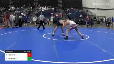 195 lbs 5th Place - Conor Maslanek, NH vs Seth Shumate, OH