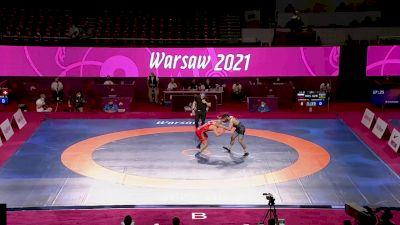 92 kg Semifinal - Magomed KURBANOV, RUS vs Osman NURMAGOMEDOV, AZE