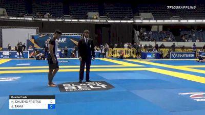 NATAN CHUENG FREITAS vs JOHNNY TAMA 2019 World IBJJF Jiu-Jitsu No-Gi Championship