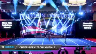 Cheer-riffic Techniques - Falcon 5 [2021 L5 Senior Coed - D2 Day 3] 2021 ACP Southern National Championship