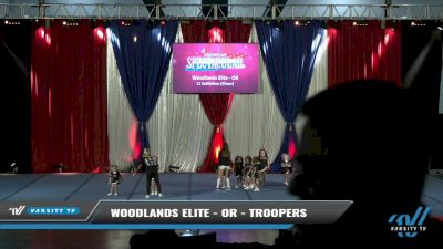Woodlands Elite - OR - Troopers [2021 L1 Exhibition (Cheer) Day 2] 2021 The American Spectacular DI & DII