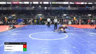 128 lbs Consolation - Nate Jackson, Team Vision Quest vs Patrick Ransom, The Community
