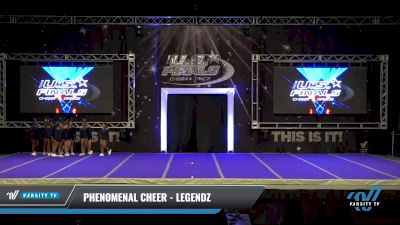 Phenomenal Cheer - Legendz [2021 L4 Performance Recreation - 8-18 Years Old (NON) - Small Day 1] 2021 The U.S. Finals: Ocean City