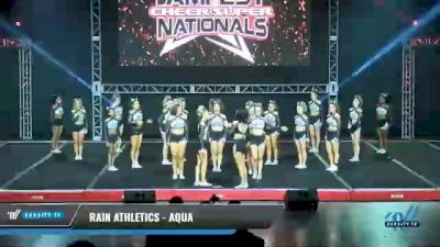 Rain Athletics - Aqua [2021 L6 Senior Small] 2021 The MAJORS
