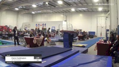 Claire Coddington - Vault, JET Gymnastics - 2021 Region 3 Women's Championships