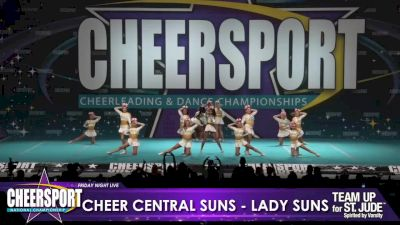Cheer Central Suns - Lady Suns [2020 L6 Senior XSmall Day 1] 2020 CHEERSPORT Nationals: Friday Night Live