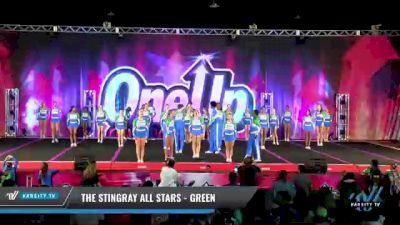 The Stingray Allstars - Marietta - Green [2021 L6 Junior Coed Day 2] 2021 One Up National Championship
