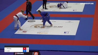 Julia Maele vs Charlotte Von Baumgarten 2019 Abu Dhabi Grand Slam London