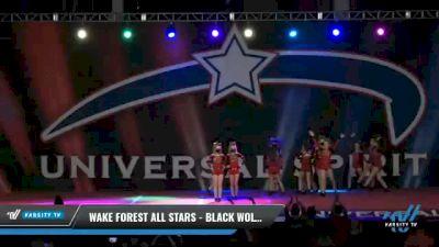 Wake Forest All Stars - Black Wolves [2021 L4 Junior - D2 Day 2] 2021 Universal Spirit-The Grand Championship