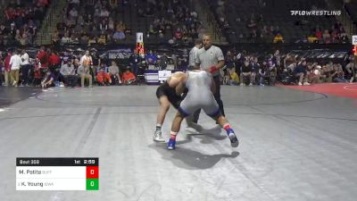 157 lbs Prelims - Michael Petite, Buffalo vs Kaleb Young, Iowa
