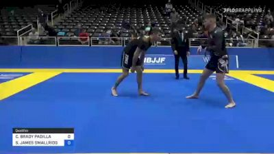 CAMERON BRADY PADILLA vs STEPHEN JAMES SMALLRIDGE 2021 World IBJJF Jiu-Jitsu No-Gi Championship