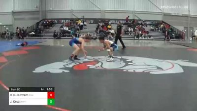 120 lbs Final - Clayton Giddens-Buttram, Raw vs Joey Cruz, Unaffiliated