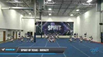 Spirit of Texas - Royalty [2021 L6 Senior Medium Coed] 2021 The MAJORS