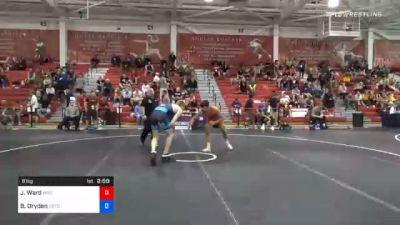 61 kg Prelims - Jordan Ward, Wyoming vs Boo Dryden, Gopher Wrestling Club - RTC