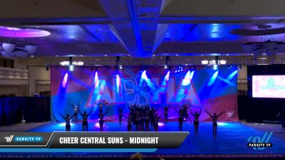 Cheer Central Suns - Midnight [2021 L6 International Open Day 1] 2021 Aloha DI & DII Championships