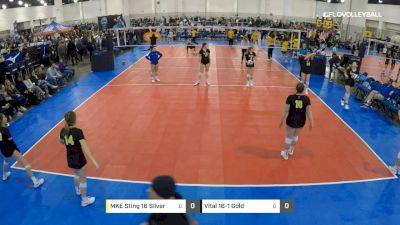 MKE Sting 16 Silver vs Vital 16-1 Gold - 2019 JVA MKE Jamboree