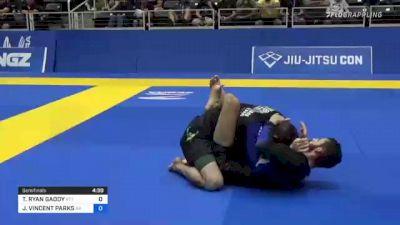 TRAVIS RYAN GADDY vs JOSH VINCENT PARKS 2021 World IBJJF Jiu-Jitsu No-Gi Championship