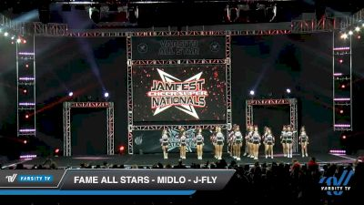 FAME All Stars - Midlo - J-Fly [2020 L6 Junior Coed - Small Day 1] 2020 JAMfest Cheer Super Nationals