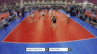 Niagara Frontier 15 Navy vs TNVA 15 Walsh - 2019 JVA Rock n' Rumble