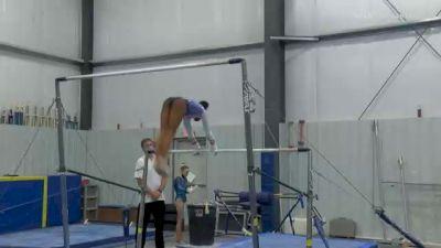 Kaliya Lincoln - Bars, WOGA Gymnastics - 2021 American Classic and Hopes Classic