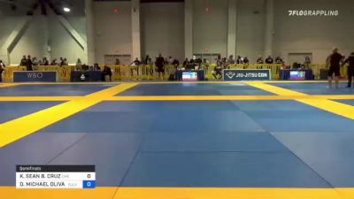 KALVIN SEAN B. CRUZ vs DORIAN MICHAEL OLIVAREZ 2021 American National IBJJF Jiu-Jitsu Championship