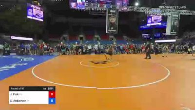 152 lbs Round Of 16 - Joseph Fisk, Maryland vs Cale Anderson, Wisconsin