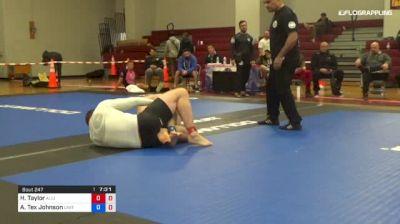 Hudson Taylor vs Aaron Tex Johnson 1st ADCC North American Trials