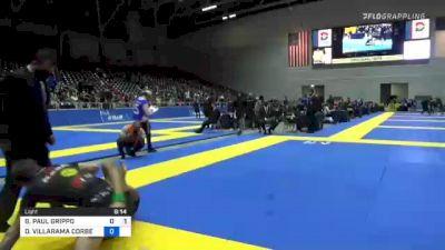 GIANNI PAUL GRIPPO vs DEANDRE VILLARAMA CORBE 2021 World IBJJF Jiu-Jitsu No-Gi Championship