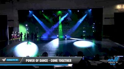 Power of Dance - Come Together [2021 Senior - Pom - Large Day 3] 2021 CSG Dance Nationals