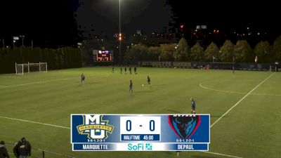 Replay: DePaul vs Marquette | Oct 16 @ 8 PM