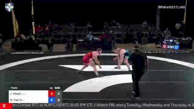 125 kg Final - Jordan Wood, NJRTC/SERTC vs Mason Parris, Cliff Keen Wrestling Club