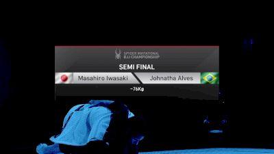 Masahiro Iwasaki vs Johnatha Alves -76kg Semifinal Spyder BJJ Final