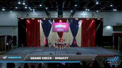 Grand Cheer - Dynasty [2021 L1 Junior - D2 - Small Day 2] 2021 The American Spectacular DI & DII