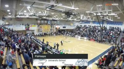 University School vs. Gonzaga Prep - Les Schwab Invitational