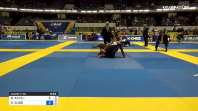 ROBERTO ABREU vs GUSTAVO ELIAS 2018 World IBJJF Jiu-Jitsu No-Gi Championship