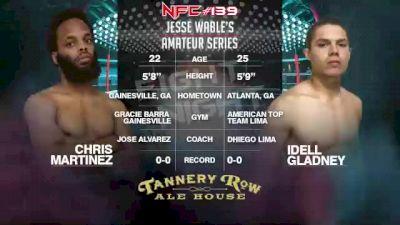 Replay: NFC MMA 139   Oct 22 @ 7 PM