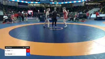 76 kg 3rd Place - Emily Cue, Colorado vs Marlynne Deede, Twin Cities Regional Training Center