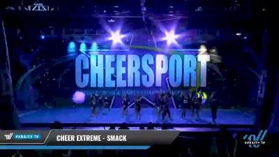 Cheer Extreme - Smack [2021 L4 - U17 Coed Day 2] 2021 CHEERSPORT National Cheerleading Championship