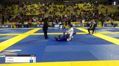 Jonathan Satava vs Ruan Oliveira 2018 World IBJJF Jiu-Jitsu Championship