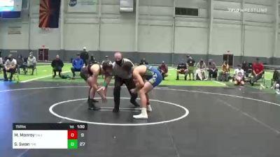 152 lbs Rr Rnd 3 - Manual Monroy, Salem Elite vs Sloan Swan, The Club