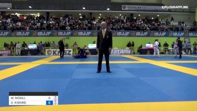 MELODY MCGILL vs GLENDA RIBEIRO 2019 European Jiu-Jitsu IBJJF Championship