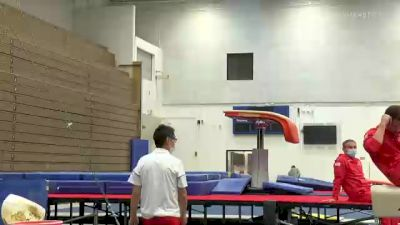 "Adrian ""De Los Angeles"" - Vault, U.S.O.P.T.C. Gymnastics - 2021 Men's Olympic Team Prep Camp"