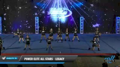 Power Elite All Stars - Legacy [2021 L1 Youth - Novice Day 2] 2021 The U.S. Finals: Phoenix