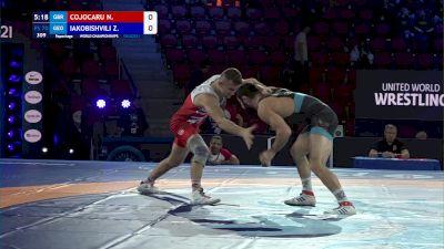 70 kg Repechage #2 - Nicolae Cojocaru, Great Britian vs Zurabi Iakobishvili, Georgia
