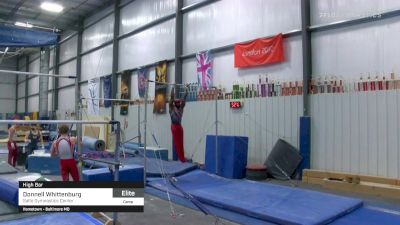 Donnell Whittenburg - High Bar, Salto Gymnastics Center - 2021 April Men's Senior National Team Camp