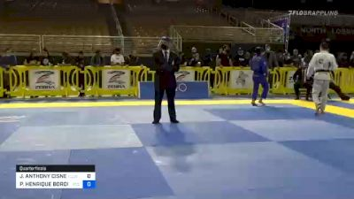 PAULO HENRIQUE BORDIGNON MIYAO vs JOSHUA ANTHONY CISNEROS 2020 Pan Jiu-Jitsu IBJJF Championship