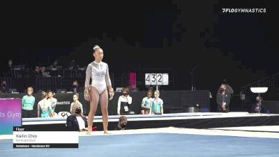 Kailin Chio - Floor, Gymcats Gym - 2021 GK US Classic & Hopes Championship