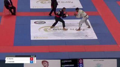 Kayan Duarte vs Leonardo Andrade Abu Dhabi Grand Slam Rio de Janeiro