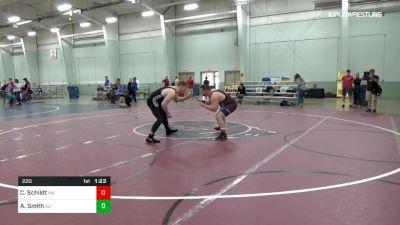 220 lbs 3rd Place - Collin Schildt, WA vs Alexander Smith, SU